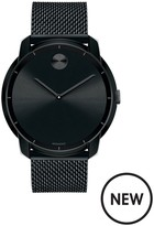 MOVADO Movado Bold 44mm Case Black IP Stainless Steel Mesh Bracelet Mens Watch