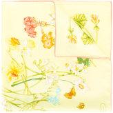 Salvatore Ferragamo floral print scarf - women - Silk - One Size