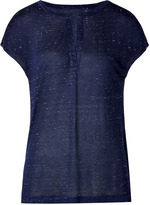Marc by Marc Jacobs Jersey Alicia T-Shirt in Ink Blue Melange