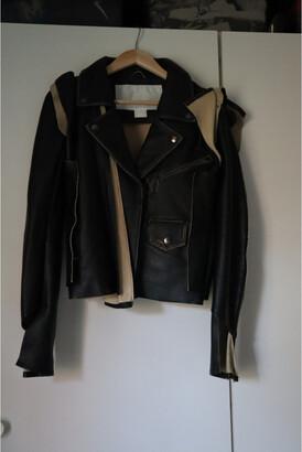 Maison Martin Margiela Pour H&m Black Leather Jackets