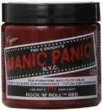 Manic Panic Rock N Roll Red Hair Dye, 4 fl oz