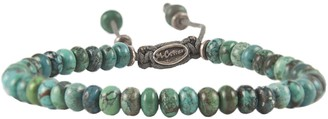 M. Cohen Templar Jointed Bracelet in Turquoise