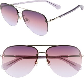 Kate Spade Jakaylas 62mm Aviator Sunglasses