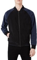 Topman Men's Cronus Smart Bomber Jacket