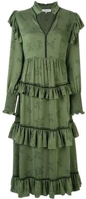 Lug Von Siga Edith tiered dress