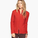 Anne Weyburn Zip-Up Cardigan