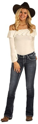 Rock and Roll Cowgirl Rival Bootcut in Dark Vintage W6-4114 (Dark Vintage) Women's Jeans
