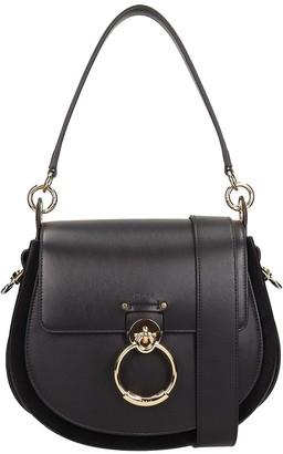 Chloé Black Leather Big Tess Bag