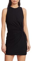 Thumbnail for your product : Alexander Wang Heavy Jersey Twist Detail T-Shirt Dress