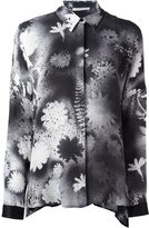 Christopher Kane spray paint effect blouse