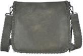 Antik Kraft Whipstitch Faux Leather Crossbody Bag