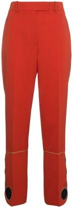 Calvin Klein Mid Rise Slim Leg Trousers