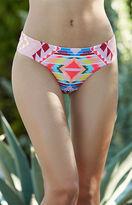 Billabong Tribe Time Tribal Print Cheeky Bikini Bottom