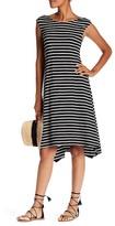 Max Studio Stripe Jersey Dress