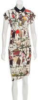 Paul Smith Printed Midi Dress