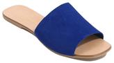 George Suede Mule Sandals