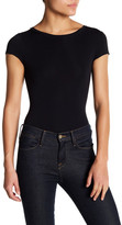 Theory Tace Crew Neck Short Sleeve Bodysuit