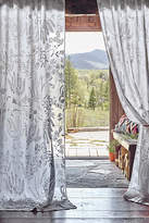 Anthropologie Blanched Flora Curtain