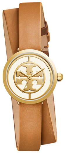 94597c0e0 Tory Burch The Reva Leather Watch - ShopStyle