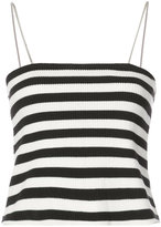 Amiri striped fitted top