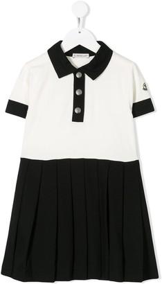 Moncler Enfant Polo Shirt Dress