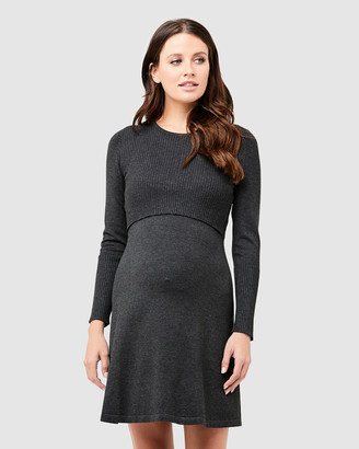 Ripe Maternity Molly Knit Nursing Dress