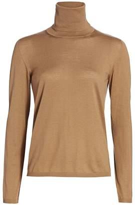Max Mara Virgin Wool Turtleneck Sweater