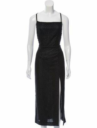 MARKARIAN Sleeveless Midi Dress w/ Tags Black