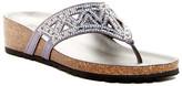 Italian Shoemakers Emilie Embellished Wedge Sandal