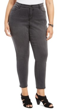 Style&Co. Style & Co Plus Size Sculpt Curvy-Fit Skinny Jeans, Created For Macy's