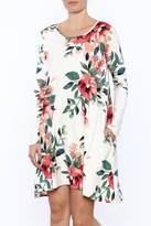 Sweet Pea Floral Pocket Dress