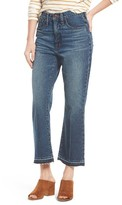 Madewell Women's Retro Crop Bootcut Jeans