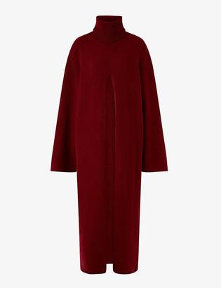 Joseph Vivien turtleneck wool midi dress