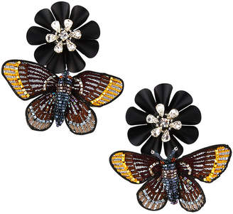 Mignonne Gavigan Butterfly Drop Earrings