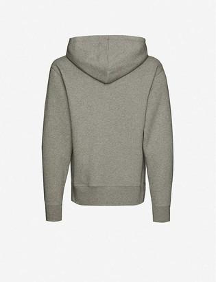 Acne Studios Ferris Face brand-patch cotton-jersey hoody