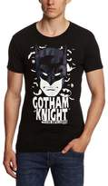 Logoshirt Slim Fit Batman-Gotham Knight Logo T-Shirt