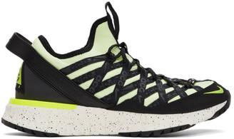 Nike Orange and Green ACG React Terra Gobe Sneakers