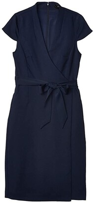 J.Crew Tropicana Dress (Navy) Women's Clothing