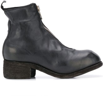Guidi Vintage Look Ankle Boots