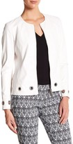 Insight Faux Leather Grommet Jacket