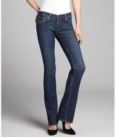 AG Adriano Goldschmied medium blue denim 'Ballad' slim bootcut jeans