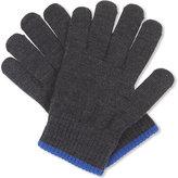 Armani Junior Virgin Wool Gloves 4-16 Years