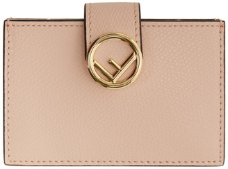 Fendi Pink Multiple F Is Card Holder