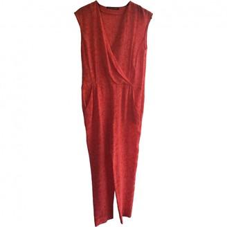 Comptoir des Cotonniers \N Red Silk Jumpsuit for Women