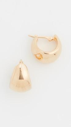 Ariel Gordon 14k Helium Huggie Earrings