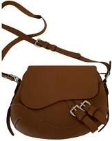 Polo Ralph Lauren Brown Leather Handbags