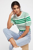 Free People Pretty In Stripes Pullover