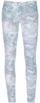 IRO 'Damia' camouflage print jeans