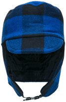 Stella McCartney 'Checks' hat - kids - Cotton/Acrylic/Nylon/Wool - 46 cm
