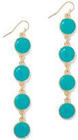 New York & Co. Circular Linear Drop Earring